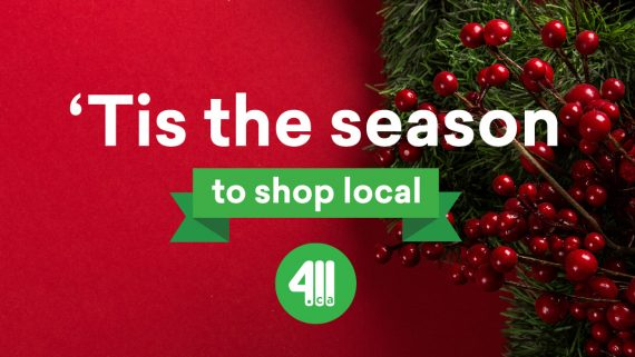 Shop local during the holidays